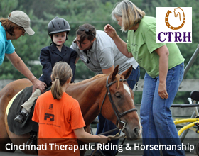 Cincinnati Theraputic Riding and Horsemanship